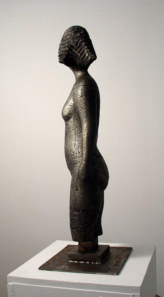 Morro · Escultures - Tan sols herba i terra