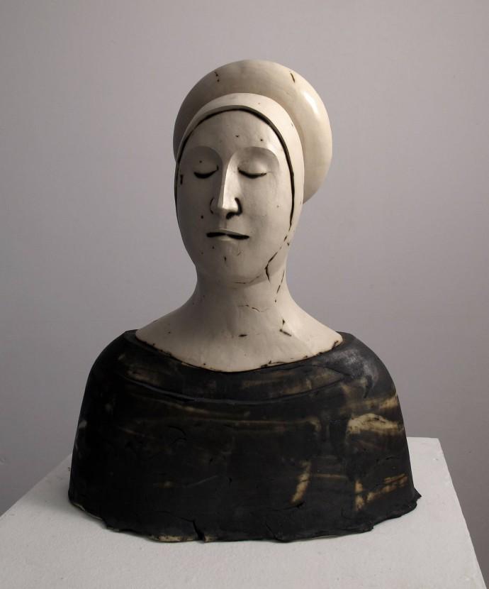 Morro · Escultures - Has sortit com una flor, de manera improvisada