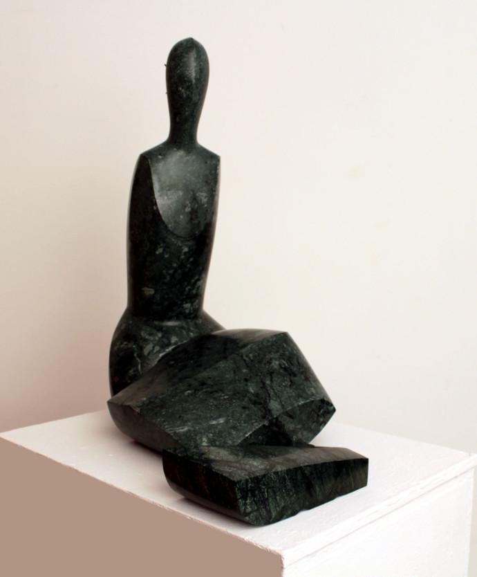 Morro · Escultures - Mar arrissada
