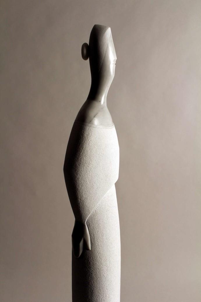 Morro · Escultures - Arbre, dona, ocell