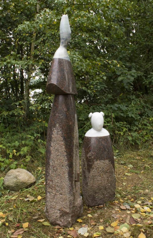 Morro · Escultures - El bosc