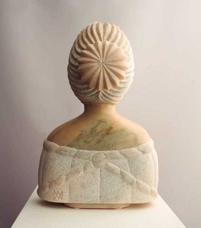 Morro · Escultures - Rosa i el vent